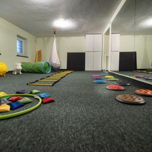 sala ćwiczeń w przedszkolu IHP